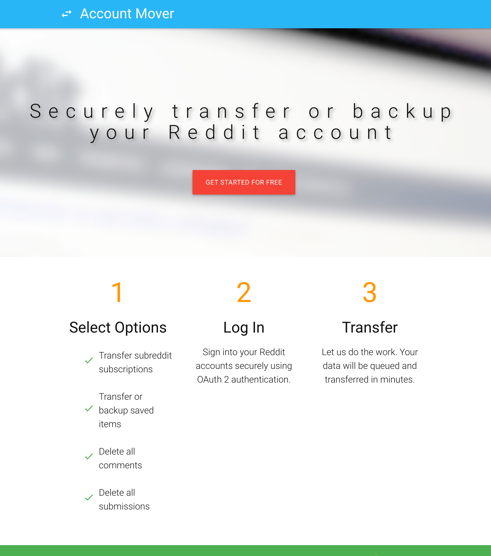 Backing Up and Transferring Your Reddit Account · Alex Urquhart