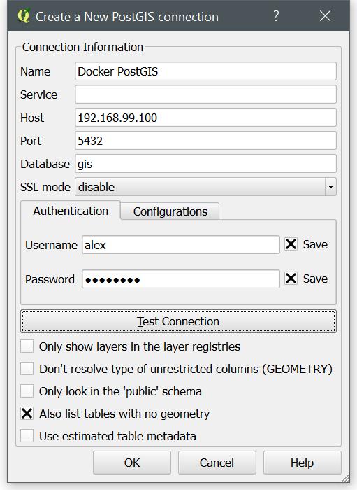 Set Up a PostGIS Database With Docker · Alex Urquhart